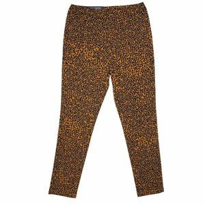 Who What Wear Cropped Leggings Animal Print Size 4